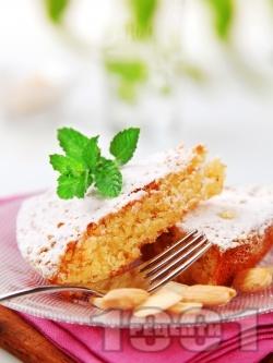 Маслен кекс с бадеми без мляко - снимка на рецептата